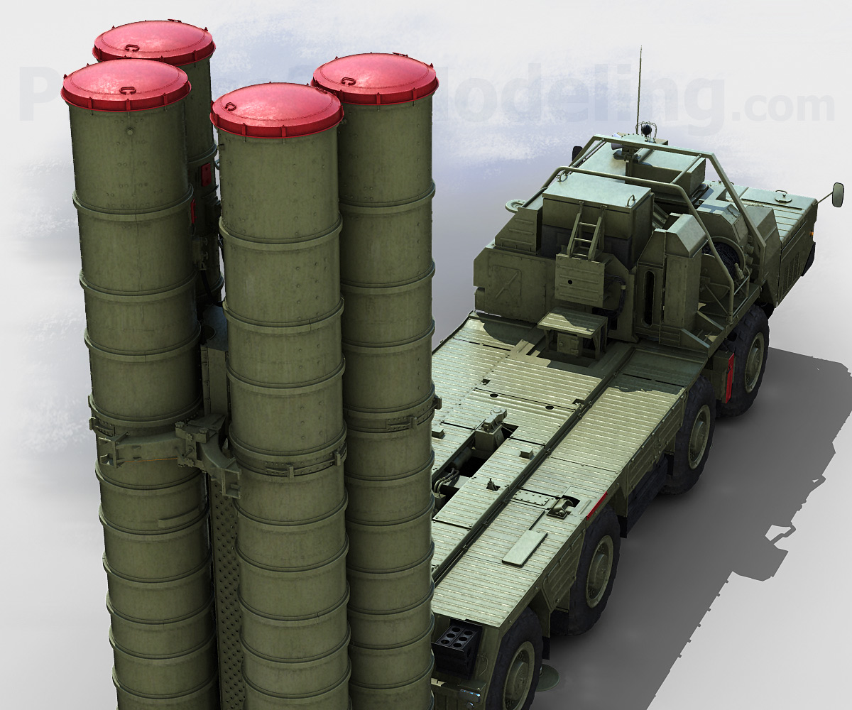 Anti Aircraft Missile System Sam S 300