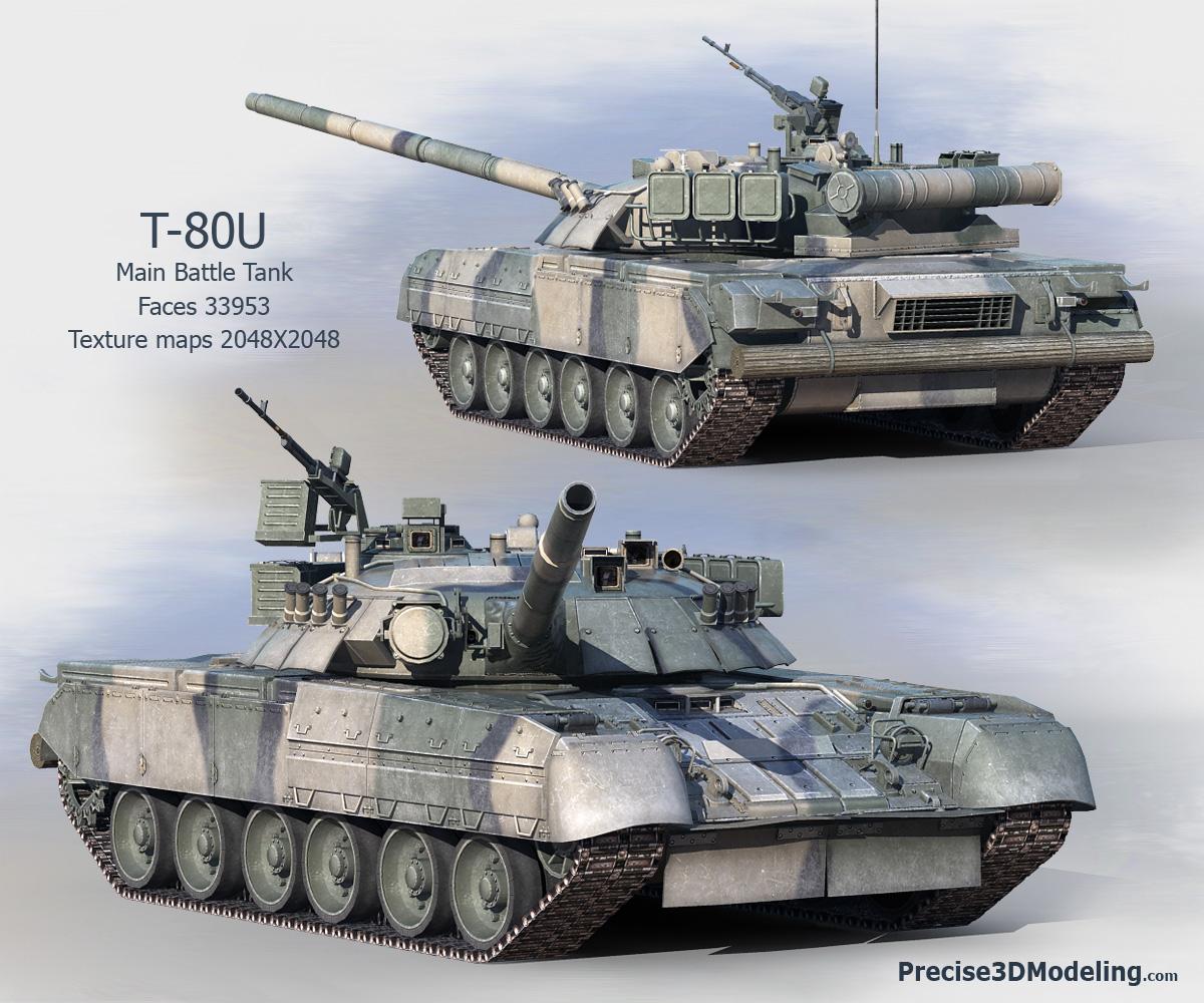 Russias Main Battle Tank T-80U