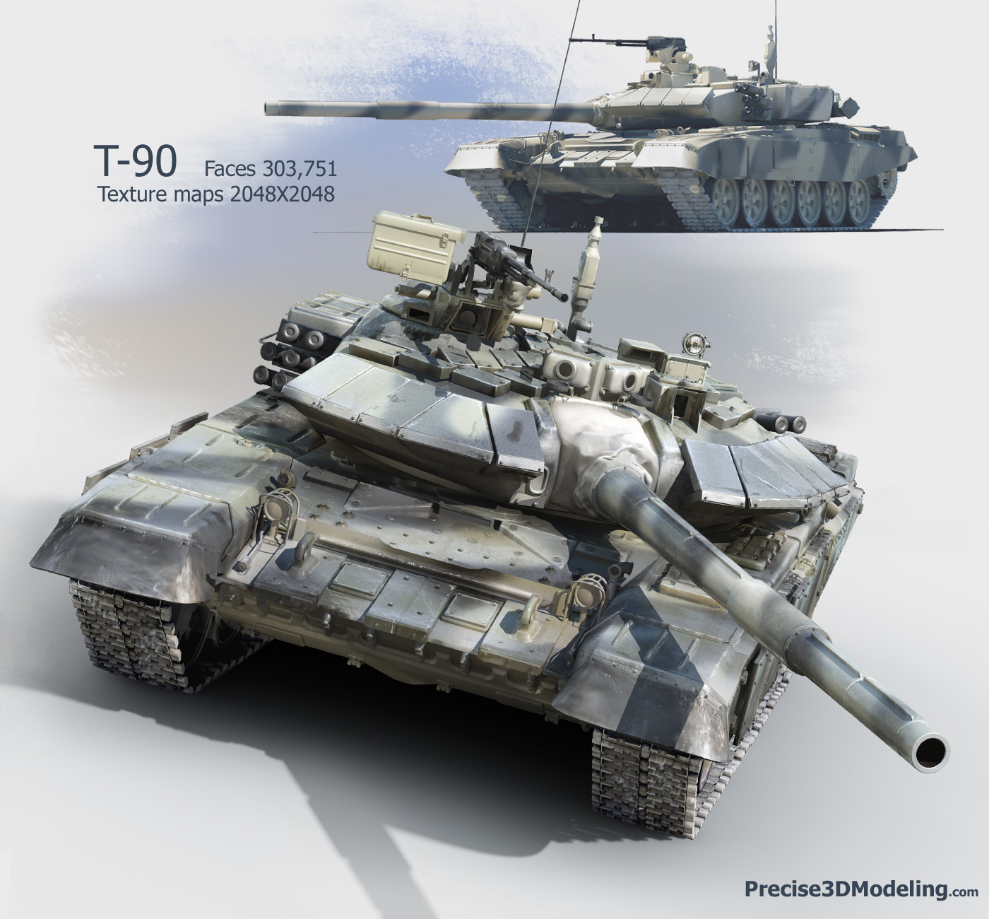 Alutsista : T-90 MAIN BATTLE TANK